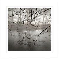David Purdie - Mist Over Pond Framed Print, 62 x 62cm