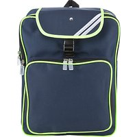 Junior Reflective Backpack, Navy