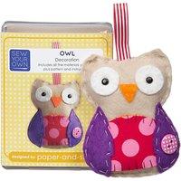 Sew Your Own Mini Owl Kit