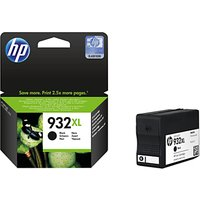 HP 932XL Ink Cartridge, Black, CN053AE