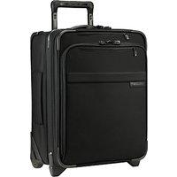 Briggs & Riley Baseline Commuter 2-Wheel 48.3cm Cabin Suitcase, Black