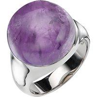 A B Davis Sterling Silver Semi Precious Bubble Stone Ring