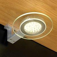 John Lewis Aura LED Circular Glass Light, 2 Pack