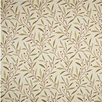 John Lewis Guelder Furnishing Fabric, Berry Red