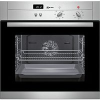 Neff B12S52N3GB Single Electric Oven, Stainless Steel