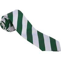 Oakwood Preparatory School Tie, 45, Green/White