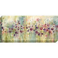Catherine Stephenson - Spring Floral Pods Print on Canvas, 60 x 135cm