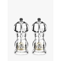 John Lewis The Basics Salt and Pepper Grinder Set
