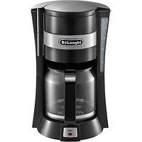 DeLonghi ICM15210 Filter Coffee Maker, Black