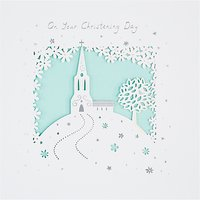 Paperlink Christening Day Card