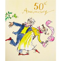 Woodmansterne Couple Dancing 50th Anniversary Card