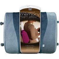 Go Travel 458 Memory Foam Lumbar Support, Assorted Colours