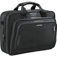 Briggs & Riley KB207X-4 Business 15.6 Laptop Briefcase, Black
