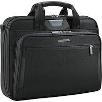 Briggs & Riley KB206-4 Business 15.6 Laptop Briefcase, Black