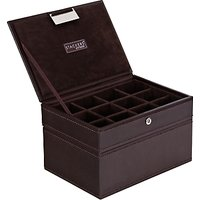 Stackers Mens Accessory Box, Brown
