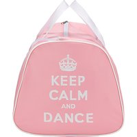 Tappers and Pointers Keep Calm and Dance Holdall, Pink