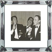 Brookpace, The Manhattan Collection - The Rat Pack Framed Print, 46 x 46cm