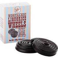 Mr Stanleys Liquorice Wheels, 160g