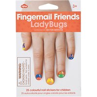 Fingernail Friends: Ladybug Nail Decals, Multi