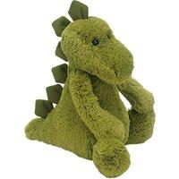 Jellycat Medium Bashful Dinosaur Soft Toy, Green