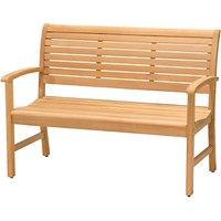 John Lewis Longstock 2-Seat Teak Bench