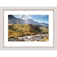 Mike Shepherd - The Llanberis Path Framed Print, 67 x 87cm