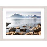 Mike Shepherd - The Cuillin Mountains Framed Print, 81 x 107cm