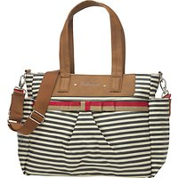 Babymel Cara Changing Bag, Navy Stripe