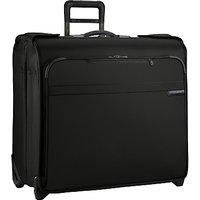 Briggs & Riley Baseline 2-Wheel Suit and Garment Bag, Black