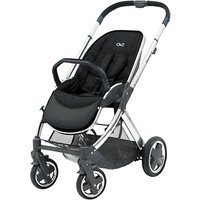 BabyStyle Oyster 2 Mirror Pushchair Chassis and Seat, Black