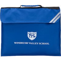 Windrush Valley School Book Bag, Royal Blue
