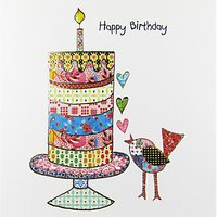 Portfolio Celebration Bird Birthday Card