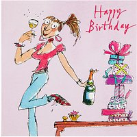 Woodmansterne Girl Birthday Card