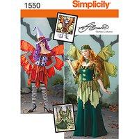 Simplicity Costume Dressmaking Leaflet, 1550