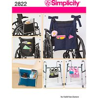 Simplicity Craft Sewing Pattern, 2822