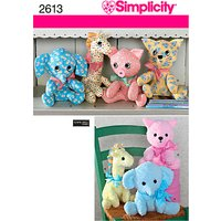 Simplicity Craft Sewing Pattern, 2613