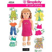 Simplicity Craft Sewing Pattern, 4654
