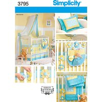 Simplicity Nursery Accessories Sewing Pattern, 3795