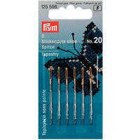Prym Tapestry Needles, Size 20, Pack of 6