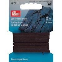 Prym Lacing Tape, 2m, Brown