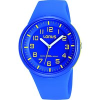 Lorus RRX51DX9 Childrens Easy Read Rubber Strap Watch, Blue