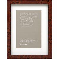 John Lewis Walnut Veneer Effect Photo Frame, 4 x 6 (10 x 15cm)