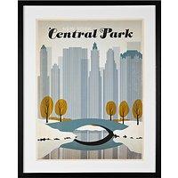 Anonymous - Central Park Framed Print, 65 x 52cm