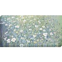 Catherine Stephenson - Hazy Daisies Print on Canvas, 60 x 120cm