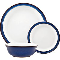 Denby Imperial Blue Tableware Set, 12 Piece