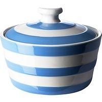 Cornishware Butter Dish, Blue/white