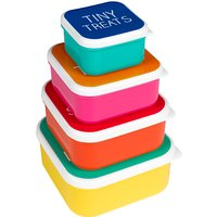 Happy Jackson Snack Boxes, Set of 4