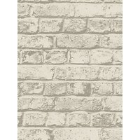 house by john lewis brick wall wallpaper, putty