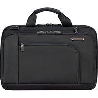 Briggs & Riley Verb Contact 15 Laptop Briefcase, Black