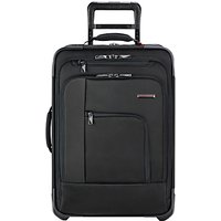 Briggs & Riley Verb Pilot 2-Wheel 54.6cm Cabin Suitcase, Black